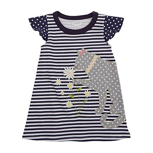 Mud Pie Daisy Cat T-Shirt Dress (3T)]()