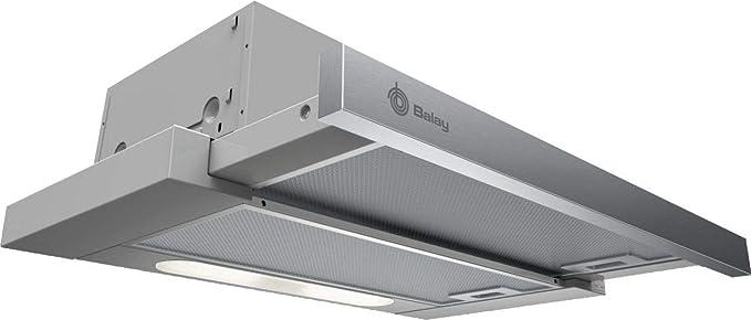Balay 3BT262MX - Campana extractora telescópica, 60 cm de ancho, 3 ...