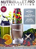 Nutribullet Pro Deluxe Edition 900-Watt Smoothie Juice Blender with Recipe Book NB9-1301