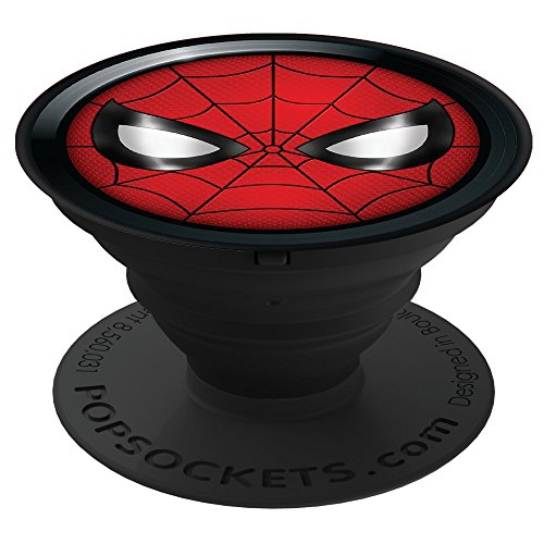 PopSockets: Collapsible Grip & Stand for Phones and Tablets - Spiderman Icon by PopSockets