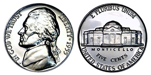 1955 Proof Clad Jefferson Nickel PF1