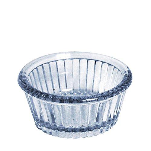 Gessner Products Company 0360A6Q Ramekin Fluted Clear 1 oz (SET OF 36 PER CASE) - Gessner Fluted Ramekin