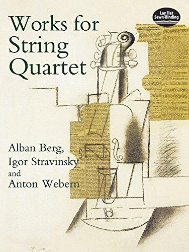 Works for String Quartet (Dover Chamber Music Scores)