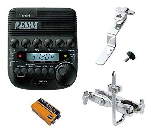 【アタッチメント/MC69+マウントホルダー/RWH10+9V乾電池付】TAMA タマ RW200 RHYTHM WATCH B0789XJCX3