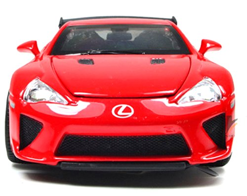 NuoYa001 NEW 1:32 Lexus LFA Diecast Car Alloy Model Toy Collection with Sound&Light Red color