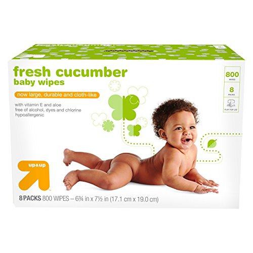 Cucumber Baby Wipes - 800 ct - up & up