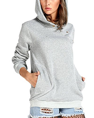 ZANZEA Fashion Loose Pullover Womens Cotton Hoodies - 5