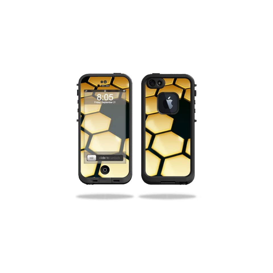 MightySkins Protective Vinyl Skin Decal for Lifeproof iPhone 5/5S fre wrap cover sticker skins Honeycomb