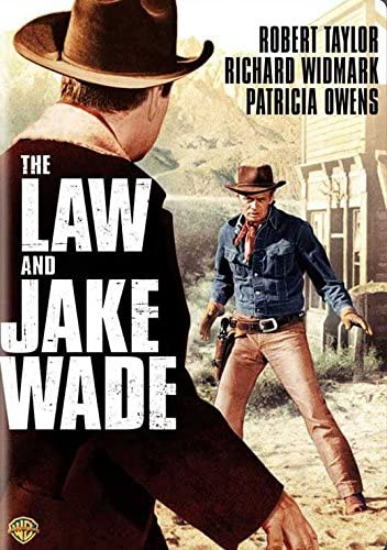 The Law /& Jake Wade Robert Taylor Widmark movie poster 2