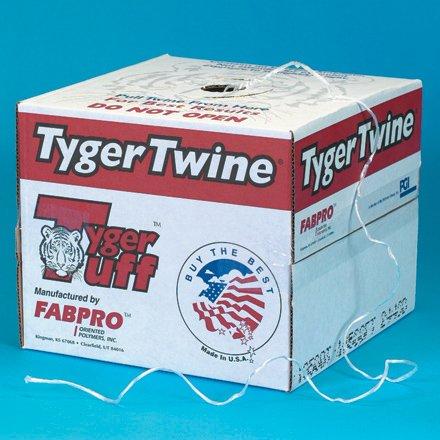 Wholesale 1-Ply, 210 Pound, White Polypropylene Tying Twine free shipping