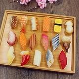 食品サンプル お寿司17点セット 豊富なバリエーション 外国人へのプレゼントにも最適
