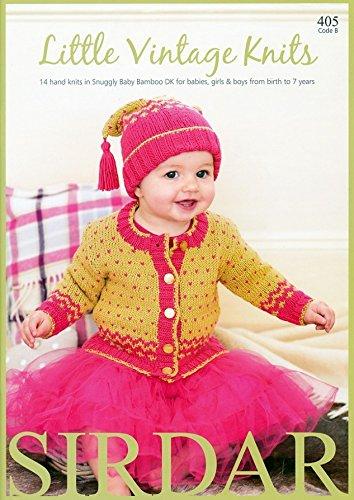 Sirdar Baby Little Vintage Knits 405 Knitting Pattern Book ()