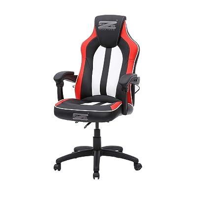 Magnificent Brazen Stealth 4 0 Surround Sound Bluetooth Pc Gaming Chair Black White Red Creativecarmelina Interior Chair Design Creativecarmelinacom