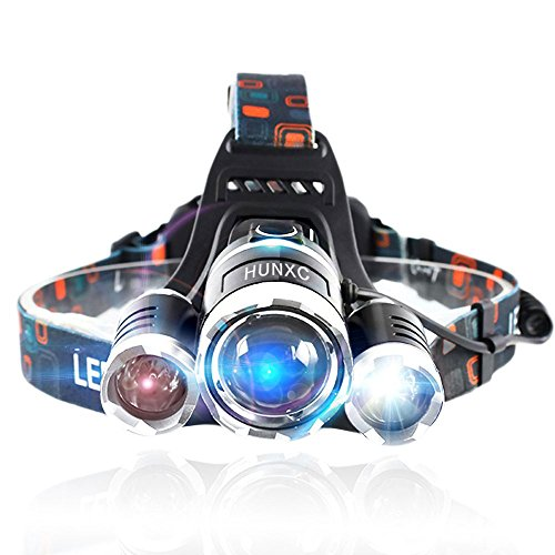 Brightest Headlight Rechargeable Waterproof Flashlight product image