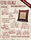 img - for Little Village Hand Embroidery Patterns book / textbook / text book