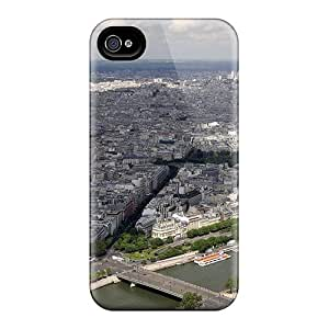 Awesome Design Eiffel Tower View Eiffelturm Ansicht Hard Case Cover For Iphone 4/4s