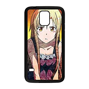 High Quality TPU Case Cover Angry Blonde Girl City Sunset Custom Perfect Case for Samsung Galaxy S5