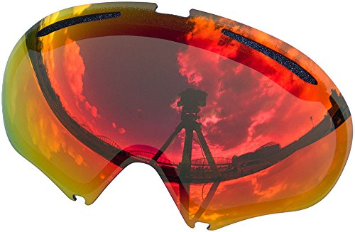 Zero Replacement Lenses For Oakley A Frame2.0 Snow Goggle Red Mirror - Oakley A-frame Replacement Lenses