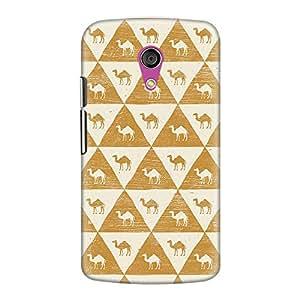 DailyObjects Egyptology Pattern Case For Motorola Moto G2