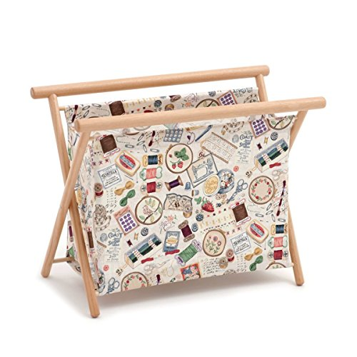 Hobby Gift 'Sewing Notions' Large Sewing Basket 23 x 48.5 x 35.5cm (d/w/h)
