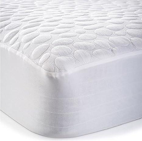 My Little Nest MPDTPT2852.8 Greenzone Sleep Pebbletex Tencel Crib Mattress Protector MPDTPT2852-8