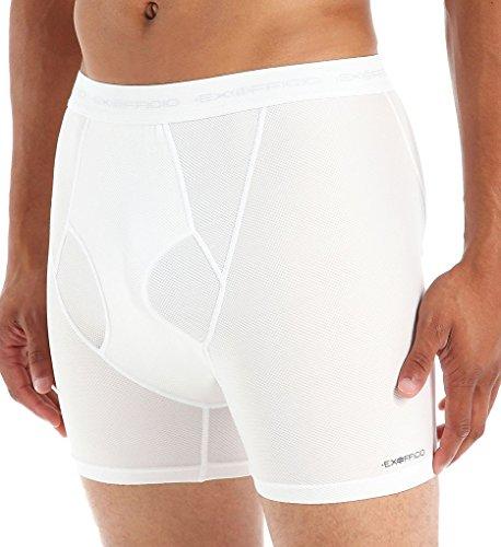 ExOfficio Give-N-Go Boxer Brief - Men's White XL