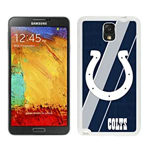 Unique And Popular Samsung Galaxy Note 3 Case ,Indianapolis Colts 04 White Samsung Galaxy Note 3 Screen Cover Beautiful Designed
