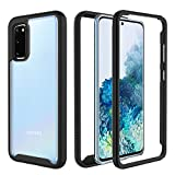 TGOOD Samsung Galaxy S20 Case,Full-Body Rugged Heavy Duty Protection Without Built-in Screen Protector Shockproof Slim Case for Samsung Galaxy S20 5G 6.2 inch,Black