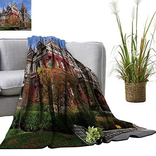 YOYI Digital Printing Blanket University Toronto Victoria College fivy Better Deeper Sleep 50