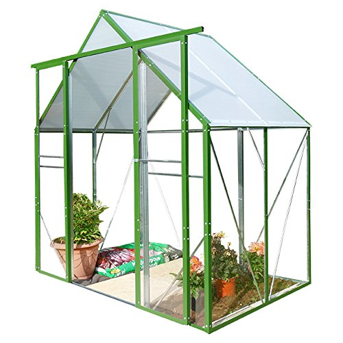 1.2m Deep Ultimate Safety PVC Greenhouse Steel Frame 1.8m Wide 1.2m Deep