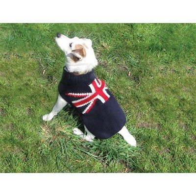 Chilly Dog Union Jack Dog Sweater (Union Jack Futon)