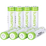 Rechargeable AA Batteries(8-Counts) Pre-charged AA 2500mAh Ni-MH Batteries