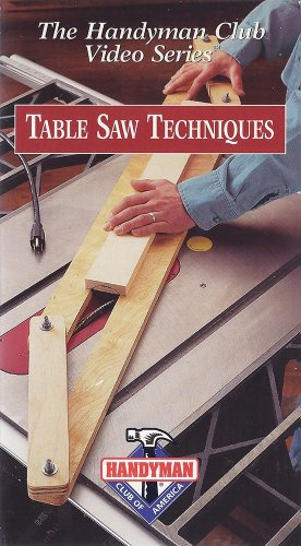 Handyman Club Video Table Techniques product image