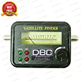 DBC Satellite Signal Finder Meter for Any Sat Dish LNB DIREC TV Dish Network, SF-9506, SF-95, SF-4A (BY TRP TRADERS)