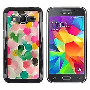 iKiki Tech / Estuche rígido - Pink Mother Kids Mom Child - Samsung Galaxy Core Prime SM-G360