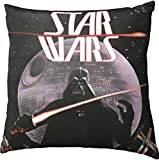 Star Wars Darth Vader Decorative Toss Throw Pillow, Black