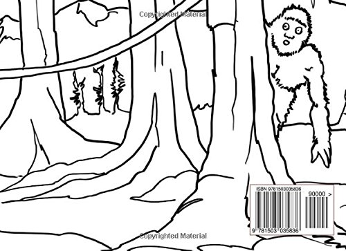 The Little Bigfoot Coloring Book Goettling Richard L Goettling Richard L 9781503035836 Amazon Com Books
