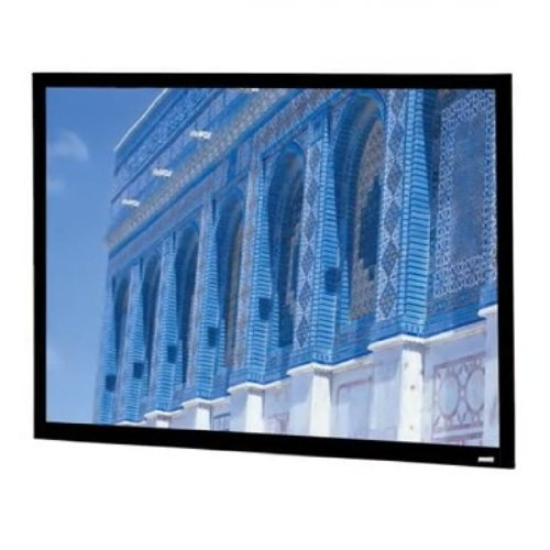 "Da-Lite 106"" Diagonal HDTV Format Home Theater Fixed Frame Screen with High Contrast Da-Mat Fabric and Pro-Trim"