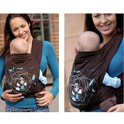 3 in 1 Baby Carrier Newborn Sling Wrap Front Back Minizone Baby Carrier Carry Baby Sling Fashinable Pattern Design