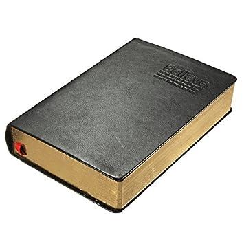 DyNamic Vintage Grueso Papel Cuaderno De Cuero Biblia Diario ...