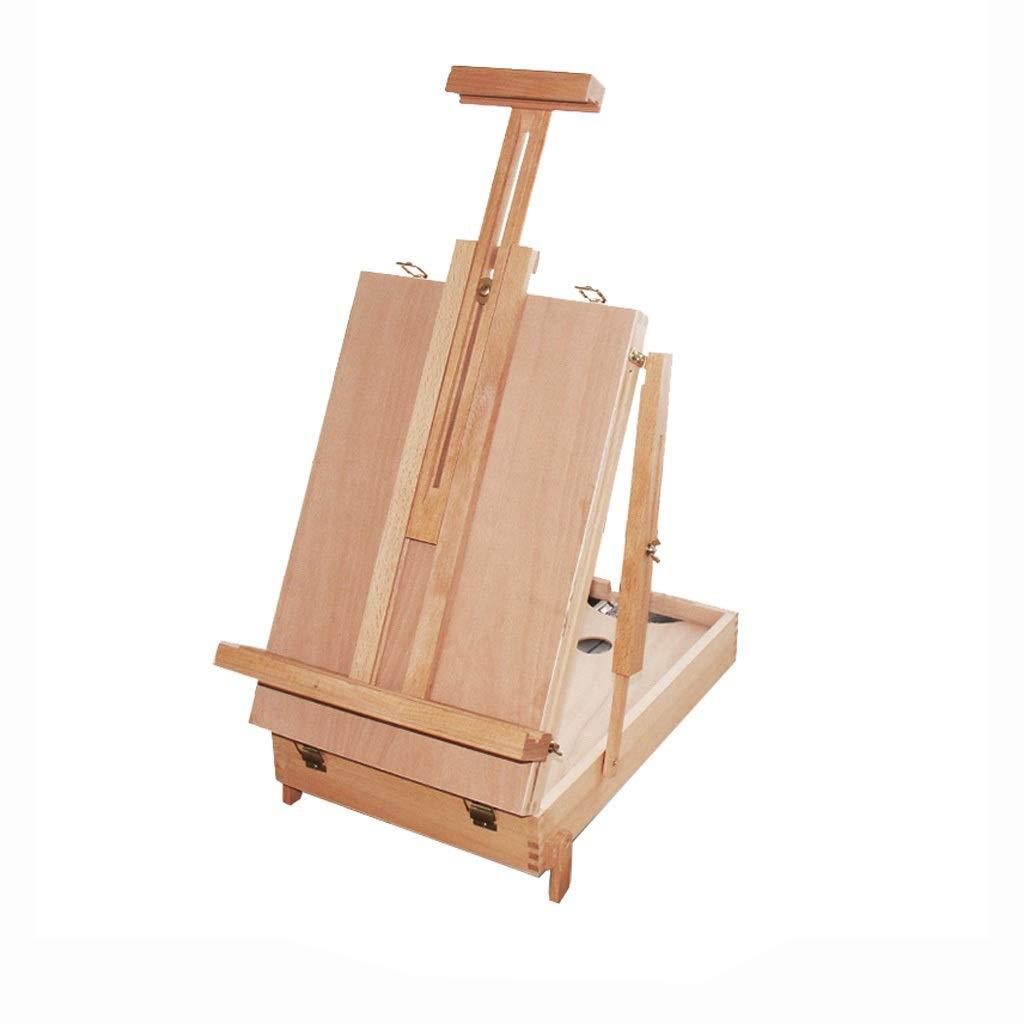 Caballete, Pintura al óleo, Caja de Dibujo, Estante para tableros, fácil de Llevar, boceto,...