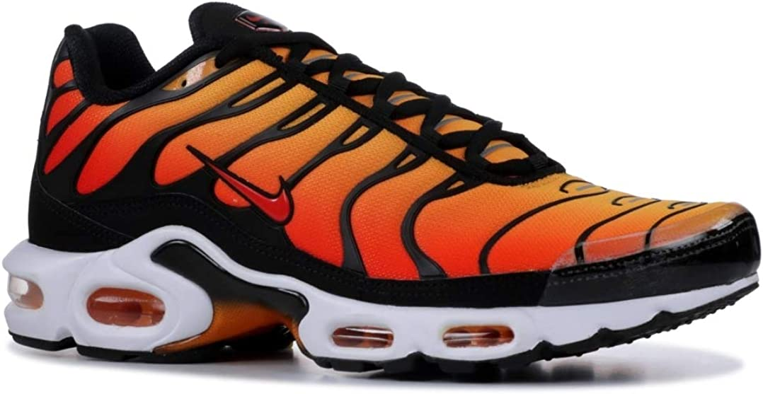 Amazon Com Nike Air Max Plus Og Bq4629 001 Orange 10 5 Road