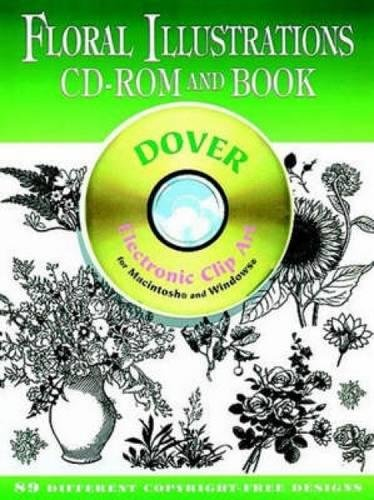 - Floral Illustrations CD-ROM and Book (Dover Electronic Clip Art)