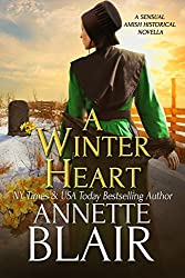 A Winter Heart: Sensual Amish Historical Novella