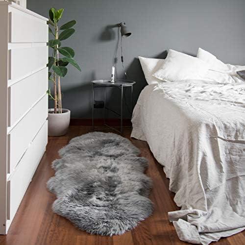 Outlavish Sheepskin Rug Genuine Soft Natural Merino 2' x 6'