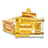 Protein Sandwich Cookies - 12 Grams of Whey Protein, Gluten Free, Non-GMO (Sweet & Salty, 8 Count, 1.79 oz)