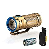 Olight S MINI Cree XM-L2 Flashlight Limited Version with CR123A Battery and SKYBEN Holster