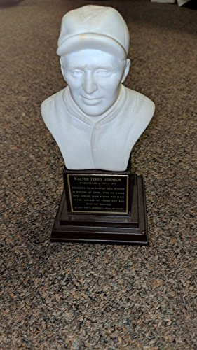 1963 Hall of Fame Bust Walter Johnson EX - Football Hall Fame 1963 Of