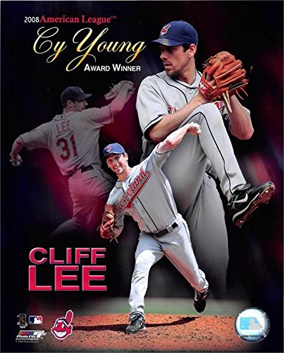 Cliff lee photo size 8x10 (Cleveland Indians) Unsigned #1 Special Cy Young Award Collage