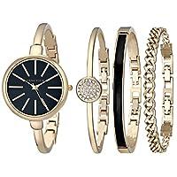 Anne Klein Women's AK/1470 Bangle Watch ...
